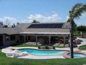 Chauffage solaire piscine-
