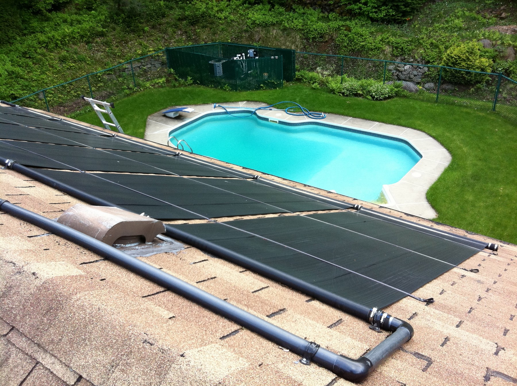 Les accessoires complémentaires chauffage piscine