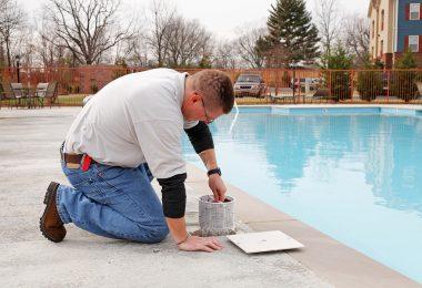 pièce technique pour piscine