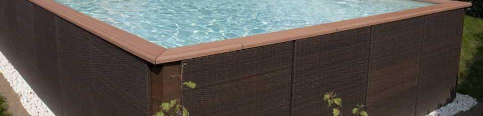 piscine hors-sol en acier