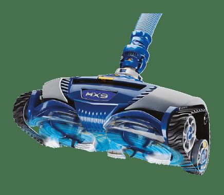 mx9 robot piscine hydrolique