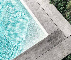 La piscine enterrée en bois - comment l'entretenir