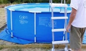 Comment fonctionne une piscine tubulaire ? Intex 28212GN