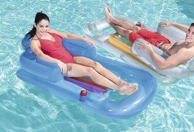fauteuil gonflable de piscine