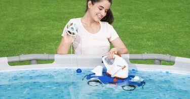 robot de piscine sans fil